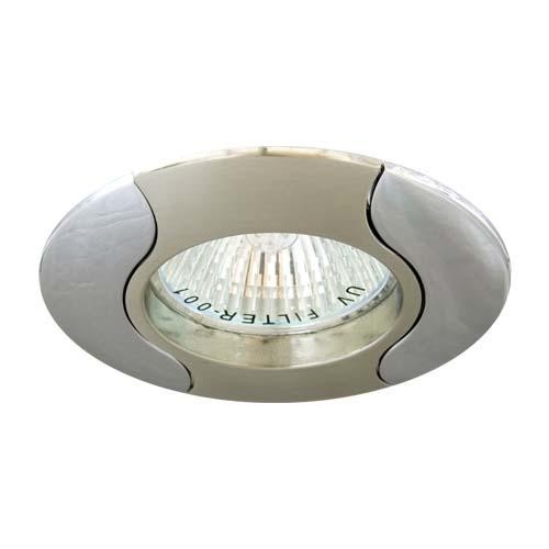 Встраиваемый светильник Feron 020Т MR-16 титан хром