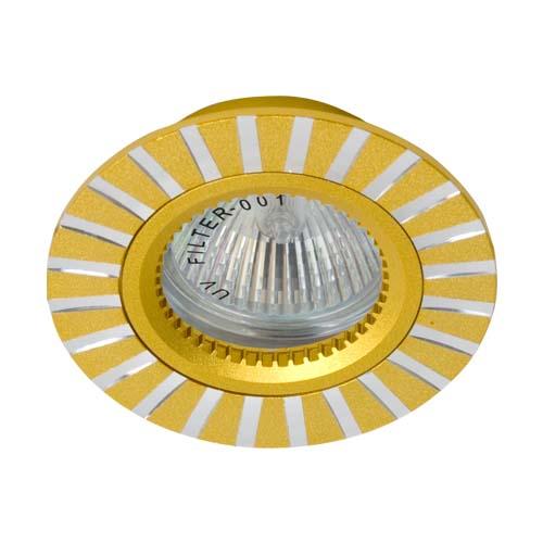 Встраиваемый светильник Feron GS-M364 золото