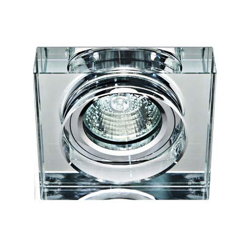 Встраиваемый светильник Feron 8180-2 прозрачный