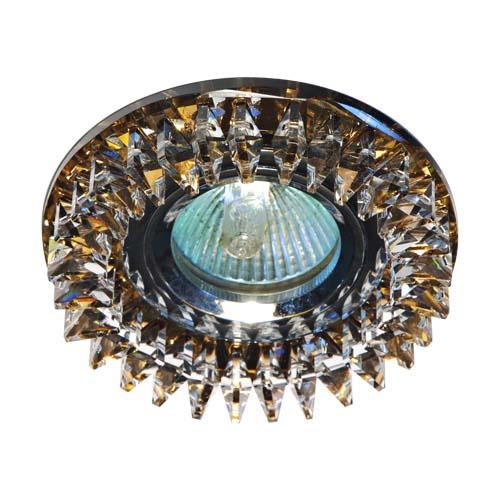 Встраиваемый светильник Feron CD2540 прозрачный чайний