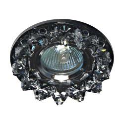 Встраиваемый светильник Feron CD2542 прозрачный серый