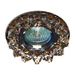 Встраиваемый светильник Feron CD2542 прозрачный чайный