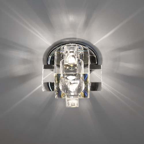 Встраиваемый светильник Feron C1037 мультиколор