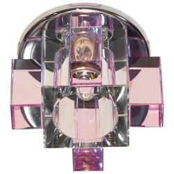 Вбудований світильник Feron C1037 рожевий