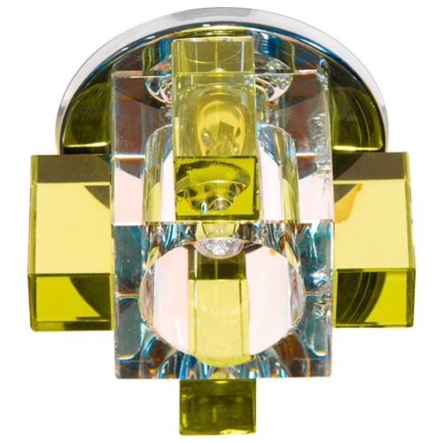 Встраиваемый светильник Feron C1037 желтый