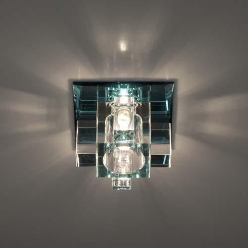 Встраиваемый светильник Feron 1525 коричневый
