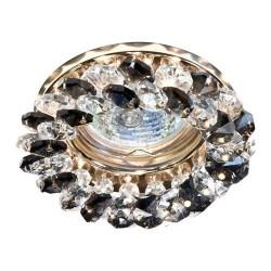 Встраиваемый светильник Feron CD4141 серый золото