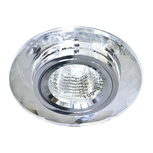 Встраиваемый светильник Feron 8050-2 серебро серебро