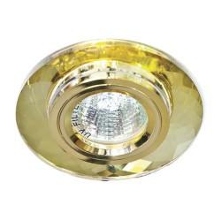Встраиваемый светильник Feron 8050-2 желтый золото