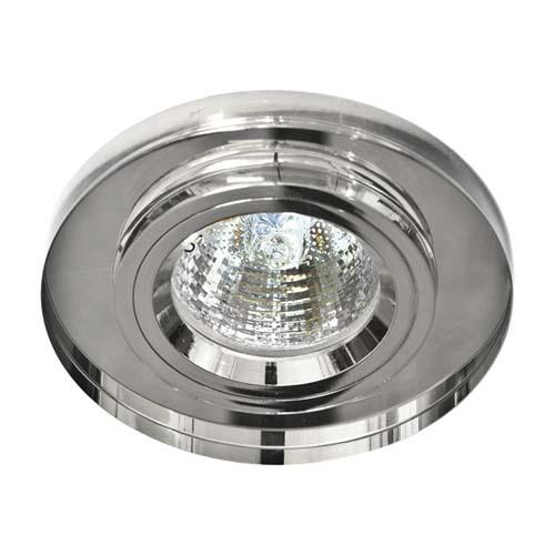 Встраиваемый светильник Feron 8060-2 серебро серебро