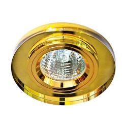 Встраиваемый светильник Feron 8060-2 желтый золото