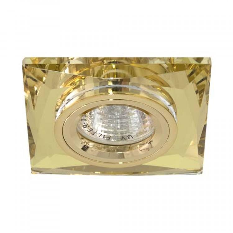 Встраиваемый светильник Feron 8150-2 желтый золото