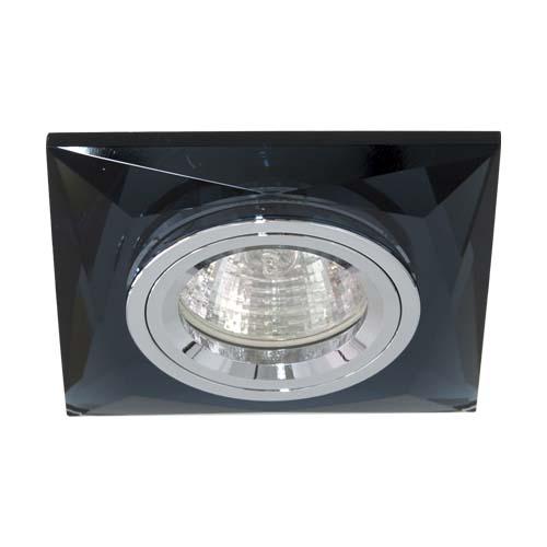 Встраиваемый светильник Feron 8150-2 серый серебро