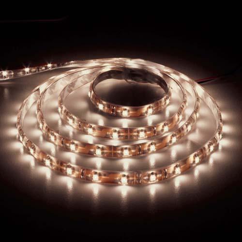 Светодиодная лента Feron SANAN LS604 60SMD/м 12V IP65 белый теплый
