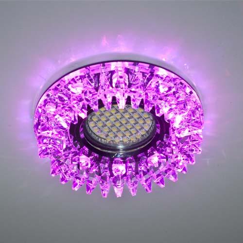 Встраиваемый светильник Feron CD2540 с LED подсветкой RGB