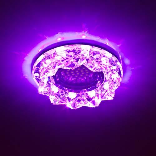 Встраиваемый светильник Feron CD2542 с LED подсветкой RGB