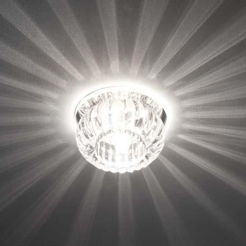 Встраиваемый светильник Feron C1010 с LED подсветкой