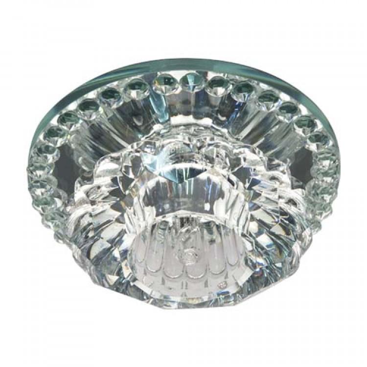 Встраиваемый светильник Feron JD125 прозрачный прозрачный