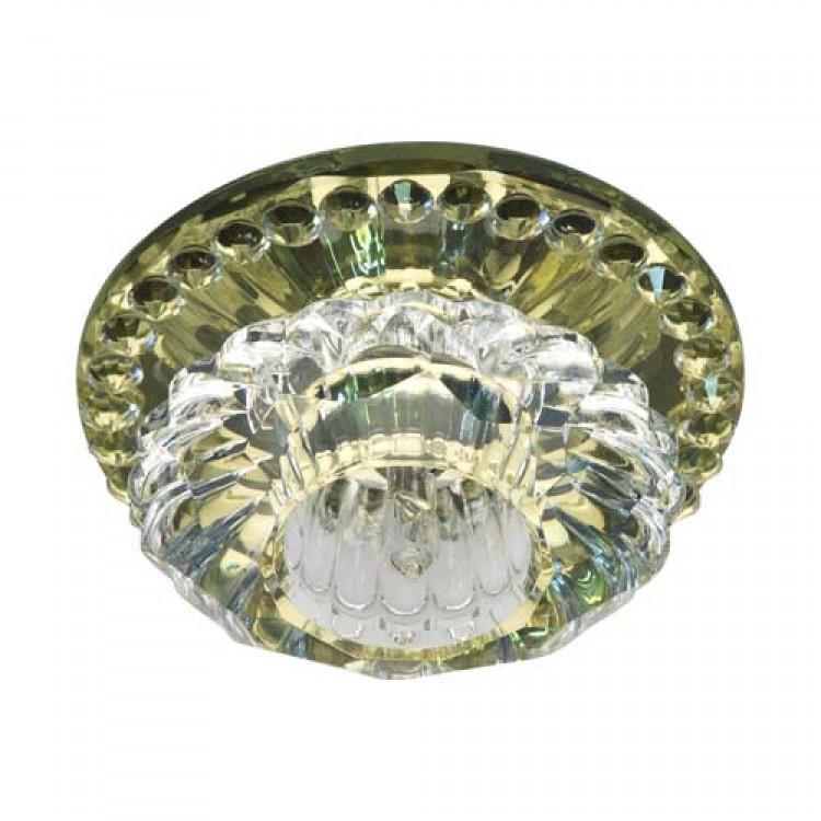 Встраиваемый светильник Feron JD125 прозрачный желтый