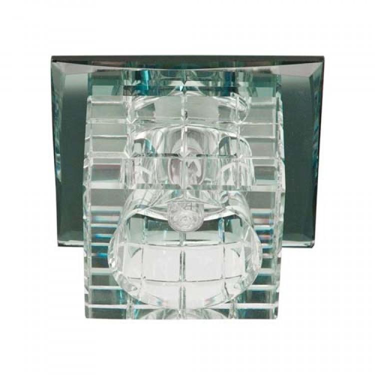 Встраиваемый светильник Feron JD106 прозрачный прозрачный
