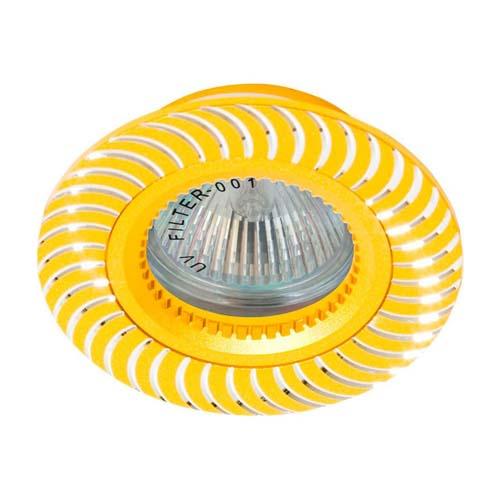 Встраиваемый светильник Feron GS-M392 золото