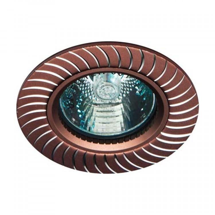 Встраиваемый светильник Feron GS-M392 коричневый