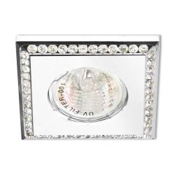Встраиваемый светильник Feron DL102-W прозрачный белый