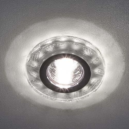 Встраиваемый светильник Feron 8686-2 с LED подсветкой
