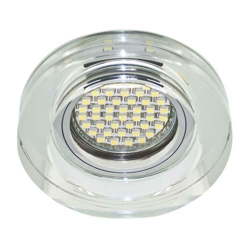 Встраиваемый светильник Feron 8080-2 с LED подсветкой