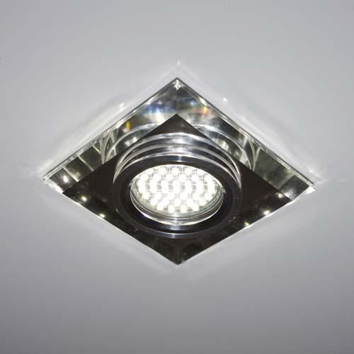 Встраиваемый светильник Feron 8170-2 с LED подсветкой