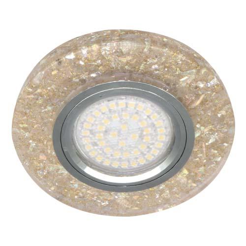 Вбудований світильник Feron 8585-2 з LED підсвічуванням