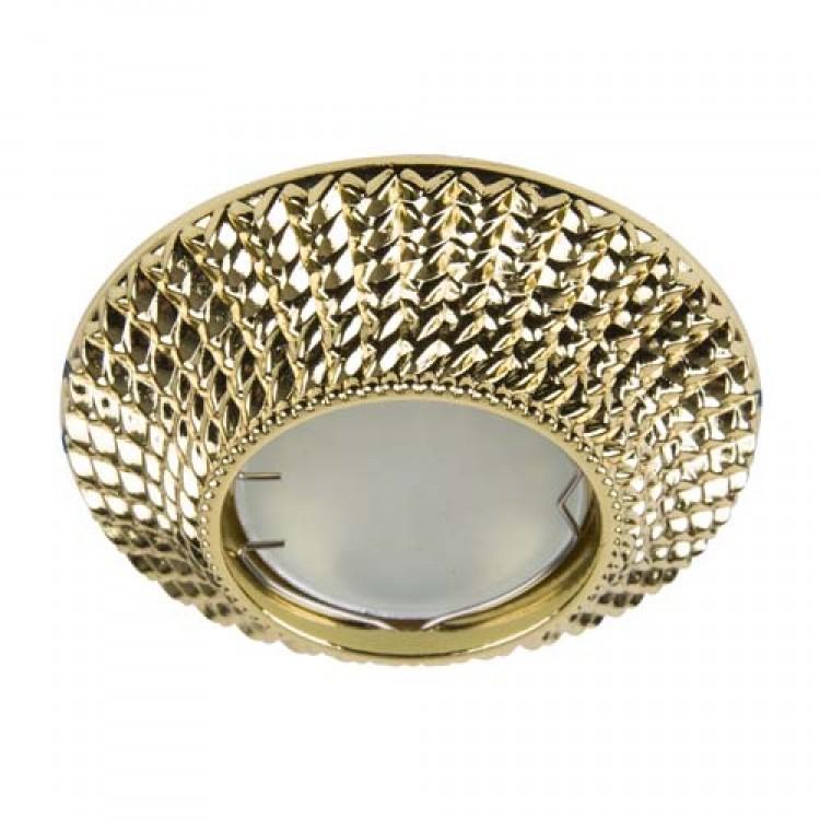 Встраиваемый светильник Feron CD003 золото