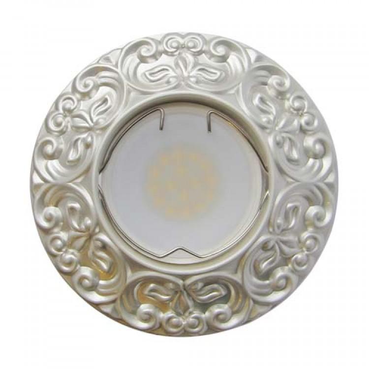 Встраиваемый светильник Feron CD004 серебро