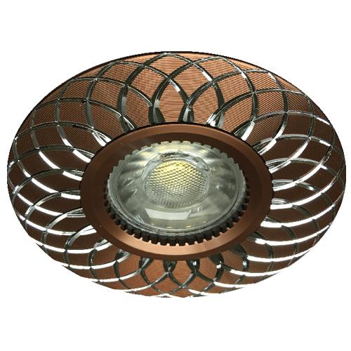 Встраиваемый светильник Feron GS-M888 коричневый