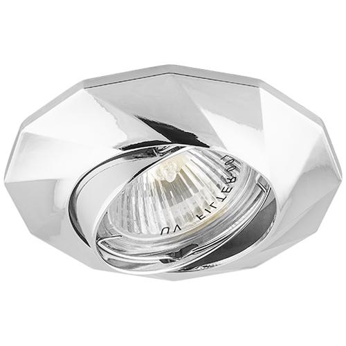 Вбудований світильник Feron DL6021 хром