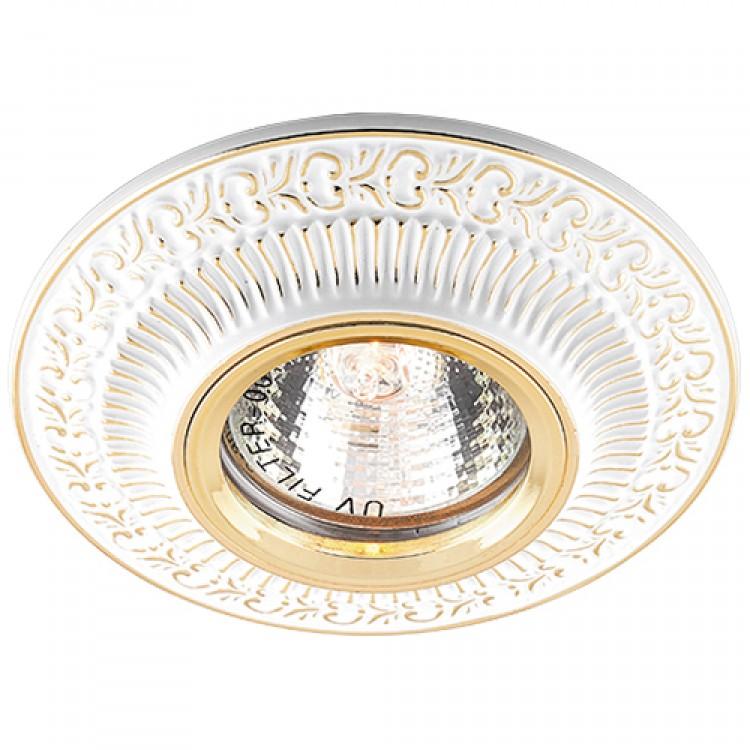 Встраиваемый светильник Feron DL6240 белый золото