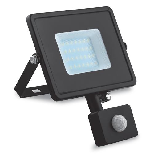Светодиодный прожектор Feron LL-904 10W с датчиком движения