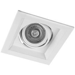 Карданный светильник Feron DLT201 белый