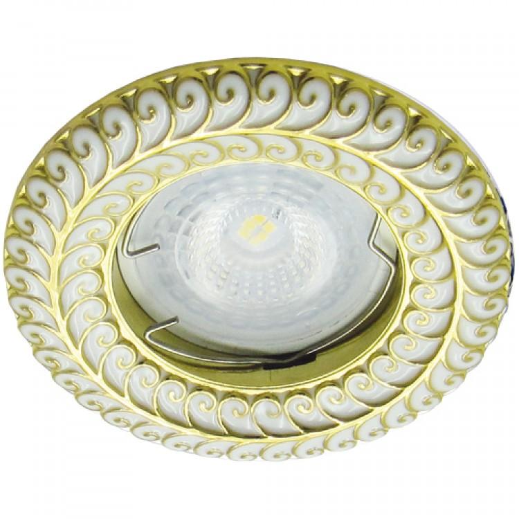 Встраиваемый светильник Feron DL6034 золото