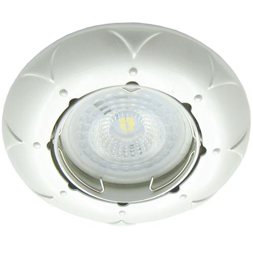 Встраиваемый светильник Feron DL6022 жемчужное серебро