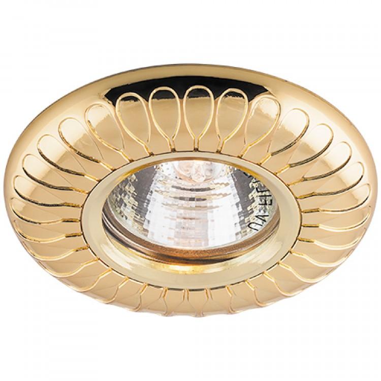 Встраиваемый светильник Feron DL6047 золото