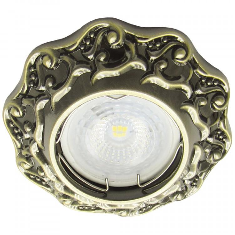Встраиваемый светильник Feron DL6241 античное золото