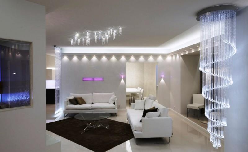 Дизайнерское освещение для интерьера: хитрости для уютной квартиры